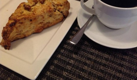 Date Walnut Scone